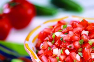 Pico de Gallo and other vegetables can be contaminated with E. coli