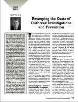 Recouping the Costs of Outbreak Investigations and Prevention