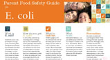 E. coli Fact Sheet and Food Safety Guide
