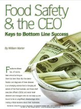 Food Safety and the CEO: Keys to Bottom Line Success